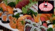 Arigatô! 55% de desconto em 25 Peças de Sushi no Samuray Sushi (de 27,50 por R$12,38)