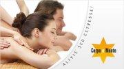 Alivie seu estresse! Massagem relaxante com 50% de desconto de R$60,00 por R$29,99